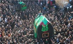 خبرگزاری فارس: سنت 200 ساله نخل گردانی و حرکت کاروان بنیاسد در کاشمر برگزار نشد