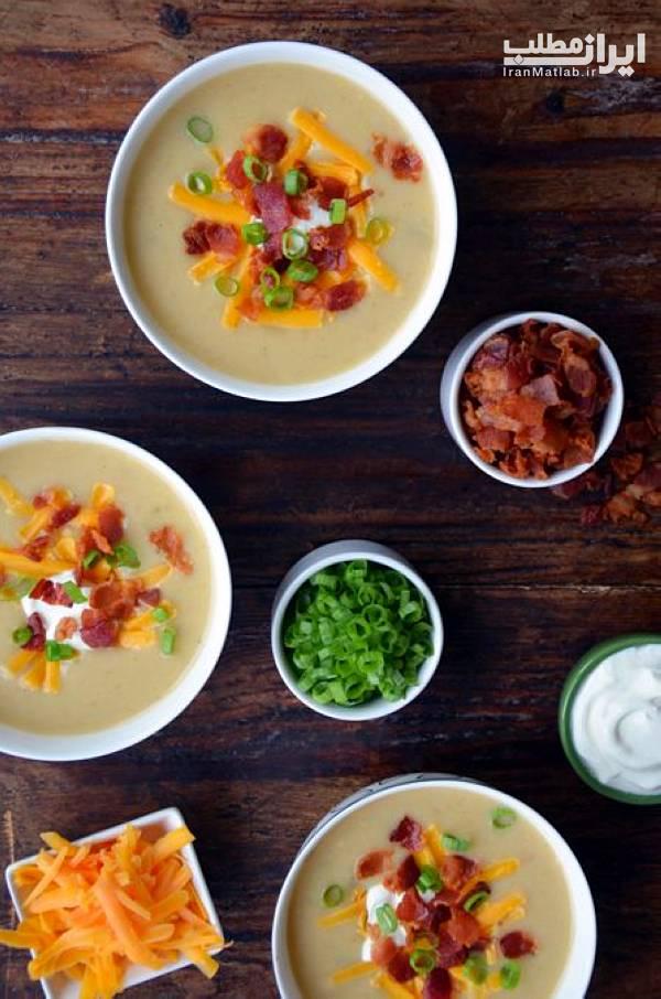 طرز تهیه انواع سوپ طرز تهیه سوپ سوپ خوشمزه