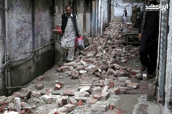 زلزله پاکستان جزئیات زلزله پاکستان تصاویر زلزله پاکستان عکس های زلزله پاکستان کشته ها زلزله پاکستان تعداد کشته های زلزله پاکستان