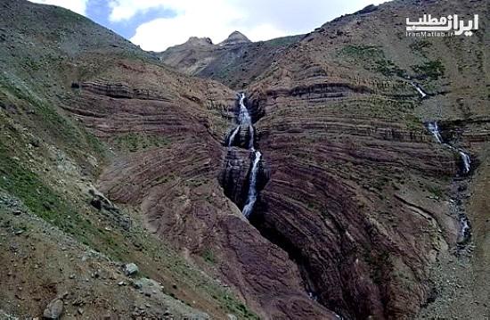 گردشگری تهران آبشارهای تهران عکس آبشار جاذبه های گردشگری تهران