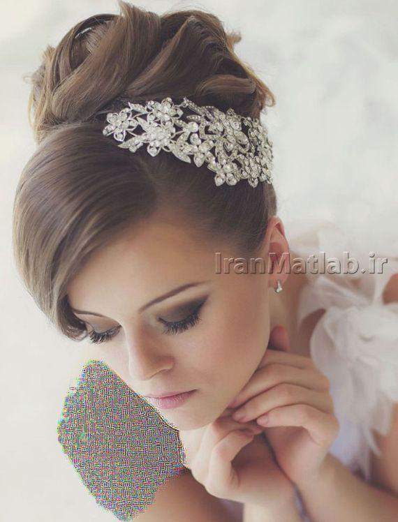 مدل موی عروس جدیدترین مدل موی عروس عکس موی عروس مدل شینیون مو مدل مو