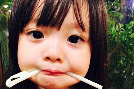 دختر سه ساله کره ای