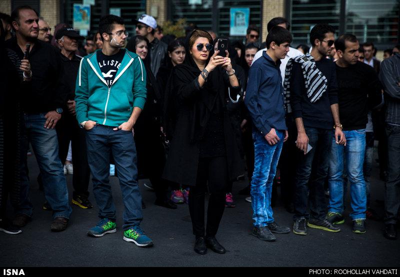 دختران بدحجاب در عزاداری ماه محرم + تصاویر
